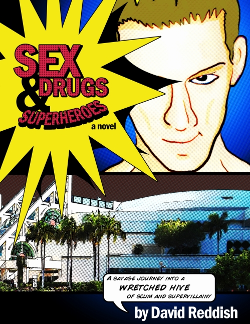 Sex Drugs Superheroes cover 2e